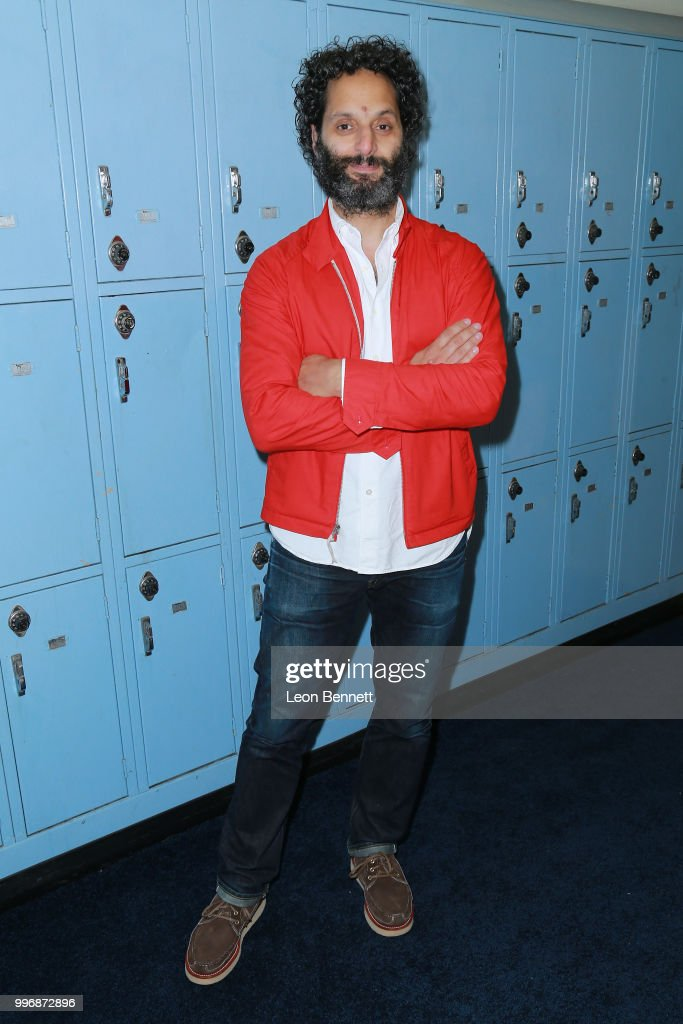 Actor Jason Mantzoukas attends the Screening Of A24's 'Eighth Grade' - Arrivals at Le Conte Middle School on July 11, 2018 in Los Angeles, California.