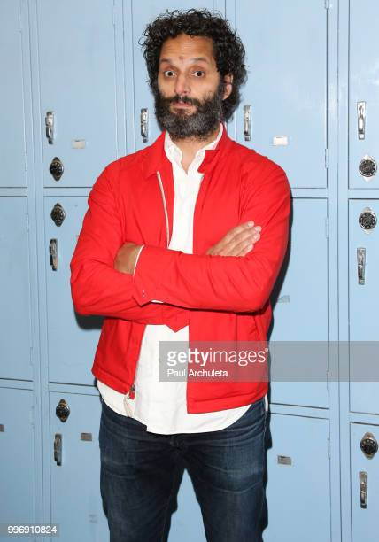 Actor Jason Mantzoukas attends the screening of A24's 'Eighth Grade' at Le Conte Middle School on July 11 2018 in Los Angeles California