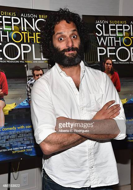 Actor Jason Mantzoukas attends the Tastemaker screening of IFC Films' Sleeping With Other People on August 24 2015 in Los Angeles California