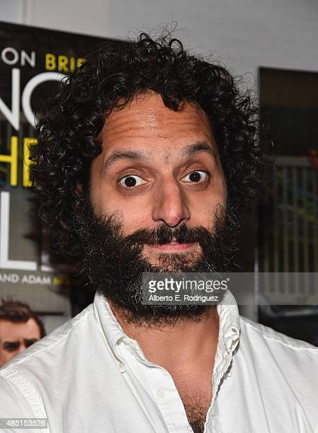 Actor Jason Mantzoukas attends the Tastemaker screening of IFC Films' 'Sleeping With Other People' on August 24 2015 in Los Angeles California
