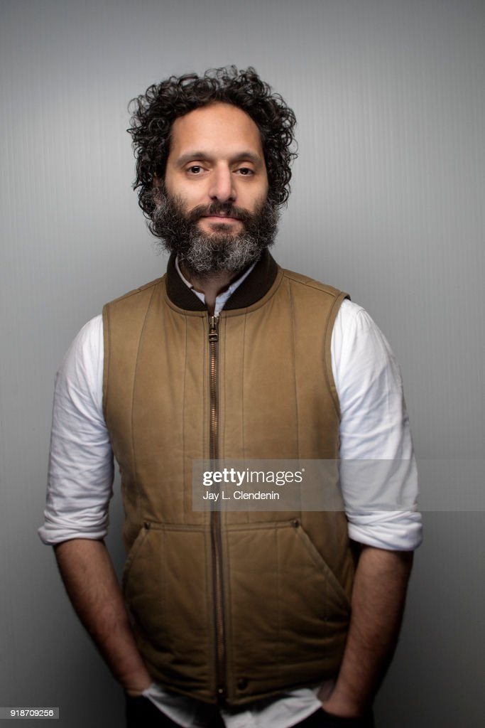 Actor Jason Mantzoukas, from the film 'The Long Dumb Road', is photographed for Los Angeles Times on January 19, 2018 in the L.A. Times Studio at Chase Sapphire on Main, during the Sundance Film Festival. PUBLISHED IMAGE.