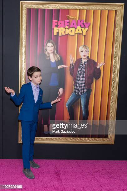 Actor Jason Maybaum attends the Freaky Friday New York Premiere at The Beacon Theatre on July 30 2018 in New York City