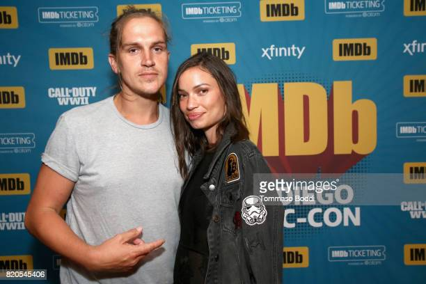 Actor Jason Mewes and producer Jordan Monsanto attend the #IMDboat Party at San Diego ComicCon 2017 Presented By XFINITY on The IMDb Yacht on July 21...