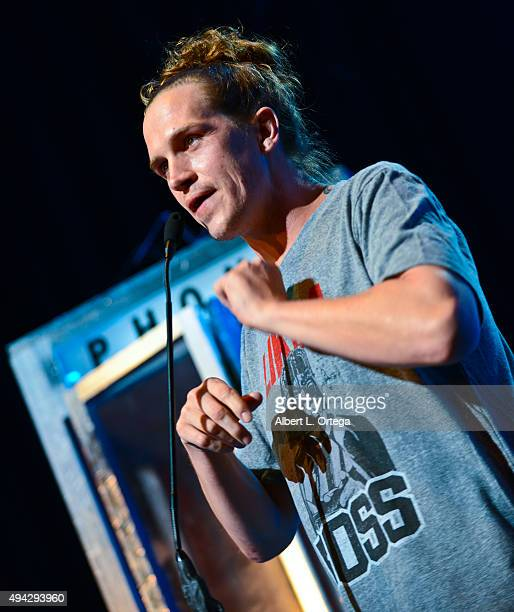 Actor Jason Mewes on stage at the 3rd Annual Geekie Awards held at Club Nokia on October 15 2015 in Los Angeles California