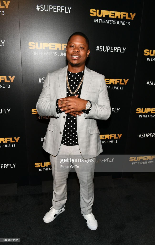 Actor Jason Mitchell attends Columbia Pictures 'Superfly' Atlanta special screening on June 7, 2018 at SCADShow in Atlanta, Georgia.