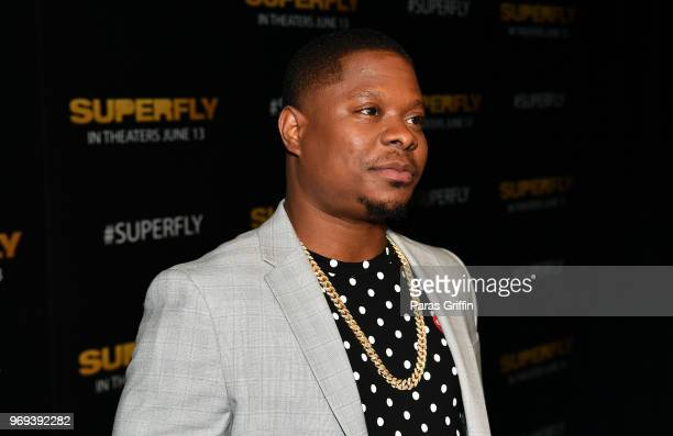 Actor Jason Mitchell attends Columbia Pictures Superfly Atlanta special screening on June 7 2018 at SCADShow in Atlanta Georgia