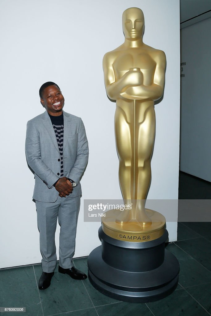 Actor Jason Mitchell attends The Academy of Motion Picture Arts & Sciences Official Academy Screening of Mudbound at the MOMA Celeste Bartos Theater on November 17, 2017 in New York City.