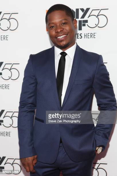Actor Jason Mitchell attends the 'Mudbound' screening during the 55th New York Film Festival at Alice Tully Hall on October 12 2017 in New York City