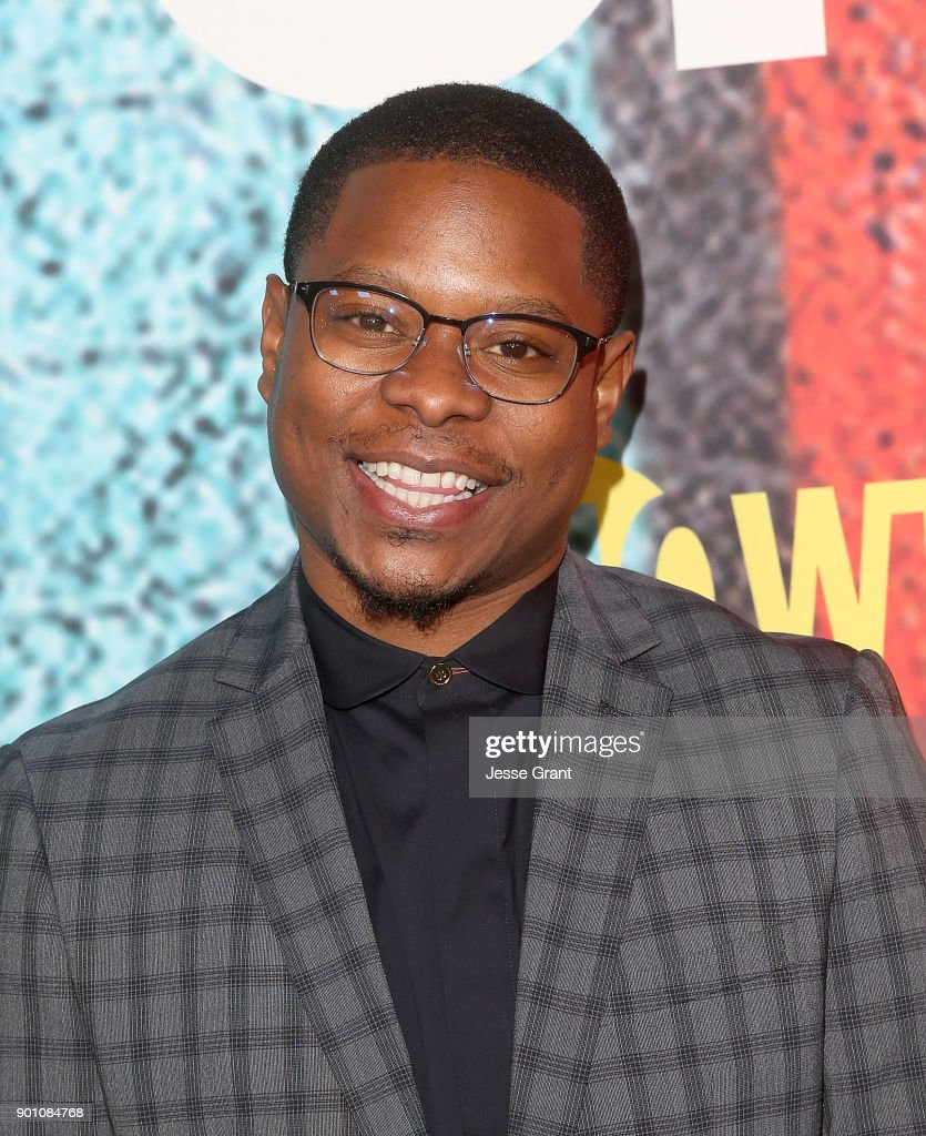 Actor Jason Mitchell attends the premiere of Showtime's 'The Chi' at Downtown Independent on January 3, 2018 in Los Angeles, California.