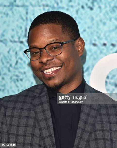 Actor Jason Mitchell attends the premiere of Showtime's The Chi at The Downtown Independent on January 3 2018 in Los Angeles California