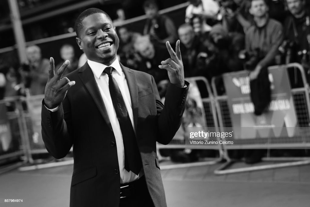 Actor Jason Mitchell attends the Royal Bank of Canada Gala & European Premiere of 'Mudbound' during the 61st BFI London Film Festival on October 5, 2017 in London, England.