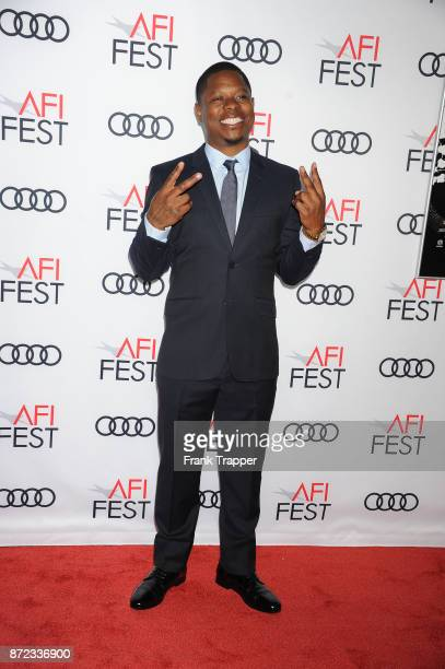 Actor Jason Mitchell attends the screening of Netflix's Mudbound at the Opening Night Gala of AFI FEST 2017 Presented By Audi at TCL Chinese Theatre...
