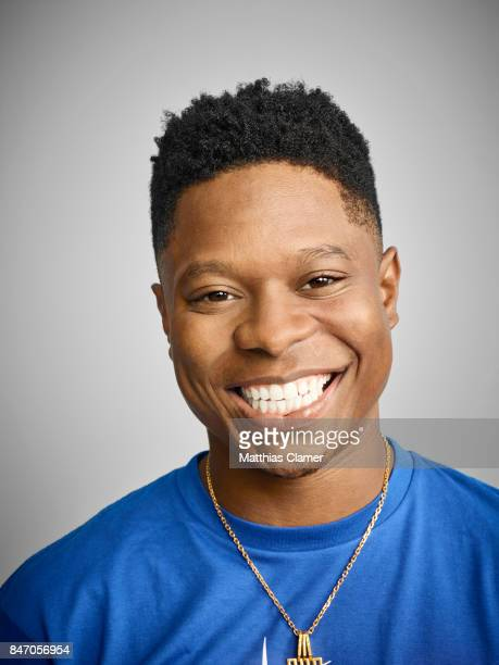 Actor Jason Mitchell from 'Kong Skull Island' is photographed for Entertainment Weekly Magazine on July 23 2016 at Comic Con in the Hard Rock Hotel...