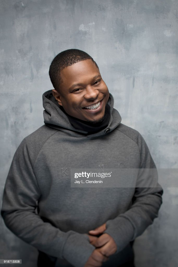 Actor Jason Mitchell, from the film 'Tyrel', is photographed for Los Angeles Times on January 20, 2018 in the L.A. Times Studio at Chase Sapphire on Main, during the Sundance Film Festival. PUBLISHED IMAGE.