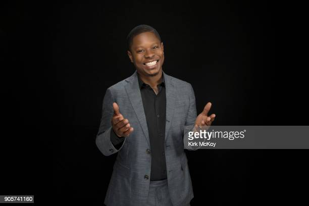 Actor Jason Mitchell is photographed for Los Angeles Times on November 12 2017 in Los Angeles California PUBLISHED IMAGE CREDIT MUST READ Kirk...
