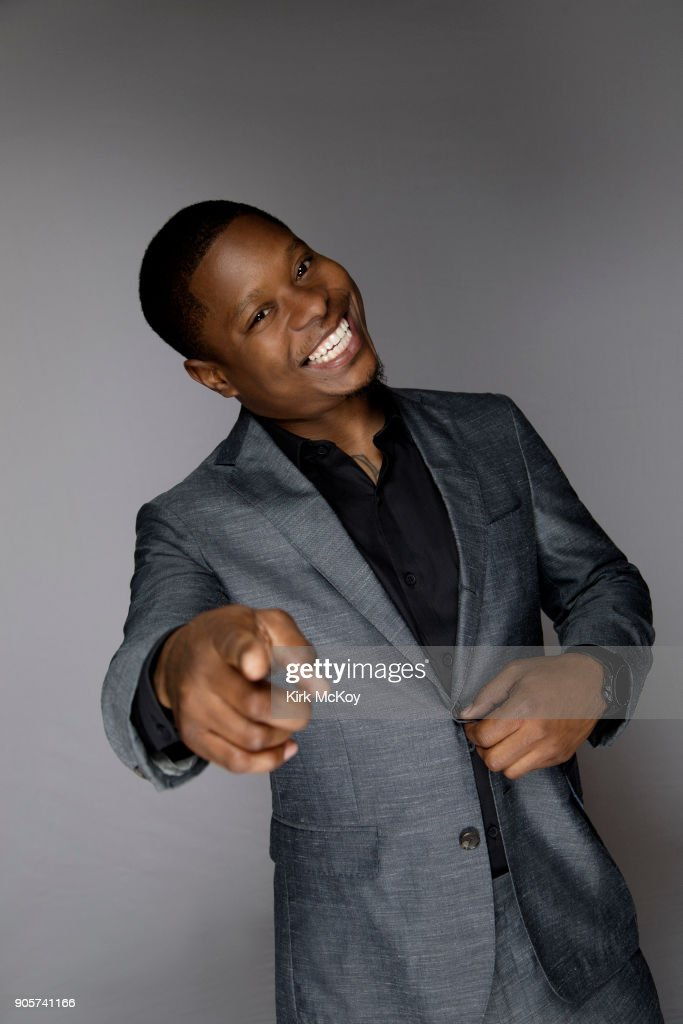 Actor Jason Mitchell is photographed for Los Angeles Times on November 12, 2017 in Los Angeles, California. PUBLISHED IMAGE.
