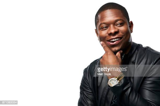 Actor Jason Mitchell photographed for Back Stage on November 1 in New York City
