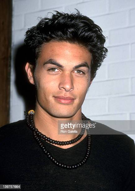 Actor Jason Momoa attends Miramax Hosts Party in Honor of Henry Diltz on November 30 2000 at the Hard Rock Cafe in Los Angeles California