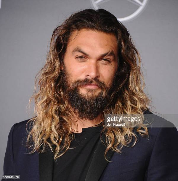 Actor Jason Momoa attends the Los Angeles Premiere of Warner Bros Pictures' Justice League at Dolby Theatre on November 13 2017 in Hollywood...