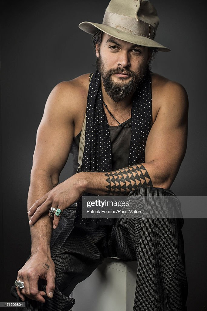 Actor Jason Momoa is photographed for Paris Match on March 11, 2014 in Paris, France.