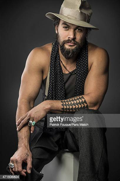 Actor Jason Momoa is photographed for Paris Match on March 11 2014 in Paris France