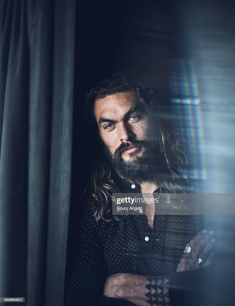 Actor Jason Momoa is photographed for The Hollywood Reporter on December 20, 2016 in Los Angeles, California. PUBLISHED