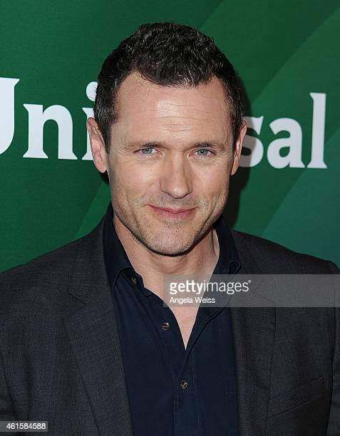 Actor Jason O'Mara arrives at NBCUniversal's 2015 Winter TCA Tour Day 1 at The Langham Huntington Hotel and Spa on January 15 2015 in Pasadena...
