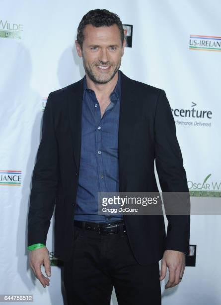 Actor Jason O'Mara arrives at the 12th Annual Oscar Wilde Awards at Bad Robot on February 23 2017 in Santa Monica California