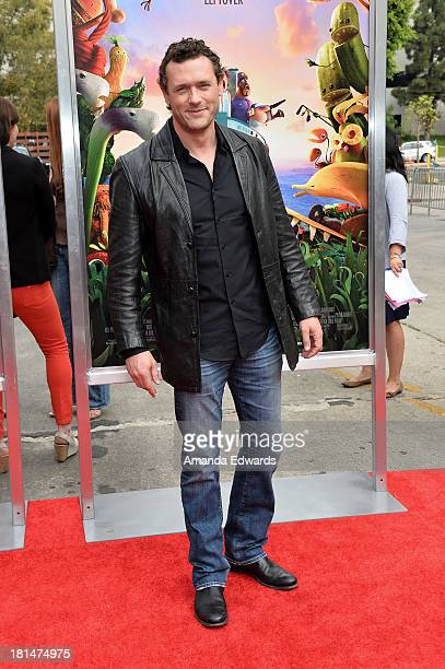 Actor Jason O'Mara arrives at the Los Angeles premiere of Cloudy With A Chance Of Meatballs 2 at the Regency Village Theatre on September 21 2013 in...