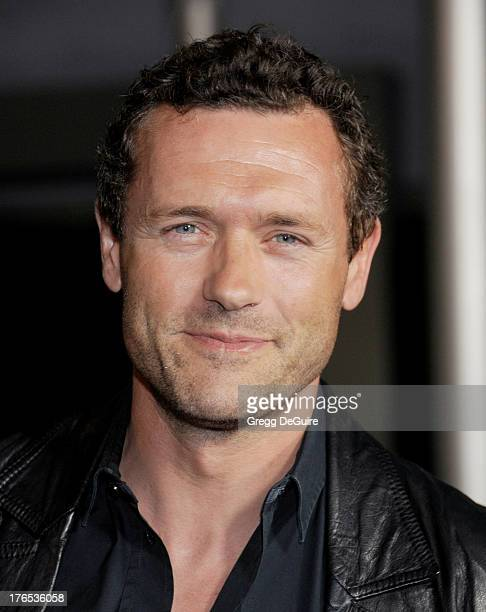 Actor Jason O'Mara arrives at the Los Angeles premiere of 'Dark Tourist' at ArcLight Hollywood on August 14 2013 in Hollywood California