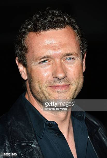 "Actor Jason O'Mara arrives at the premiere of ""Dark Tourist"" at ArcLight Hollywood on August 14, 2013 in Hollywood, California."