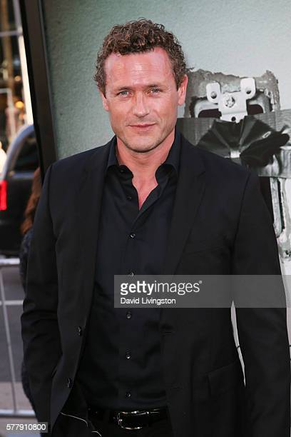 Actor Jason O'Mara arrives at the premiere of New Line Cinema's Lights Out at the TCL Chinese Theatre on July 19 2016 in Hollywood California