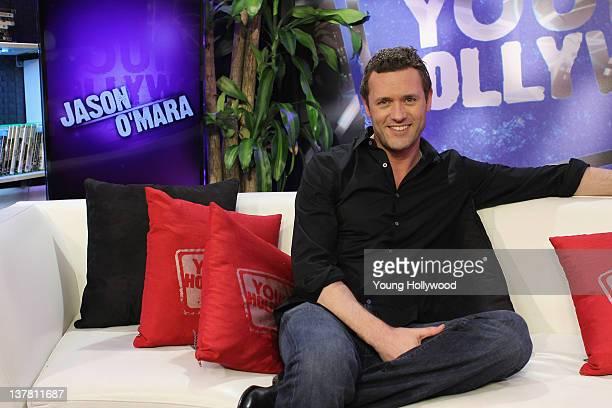 Actor Jason O'Mara at the Young Hollywood Studio on January 17 2012 in Los Angeles California