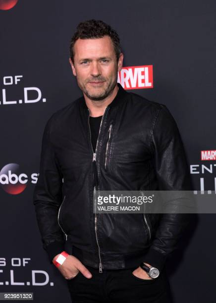 Actor Jason O'Mara attends Marvels Agents of SHIELD 100th Episode Celebration in Hollywood California on February 24 2018 / AFP PHOTO / VALERIE MACON