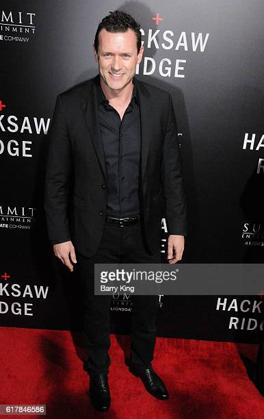 Actor Jason O'Mara attends screening of Summit Entertainment's 'Hacksaw Ridge' at Samuel Goldwyn Theater on October 24 2016 in Beverly Hills...