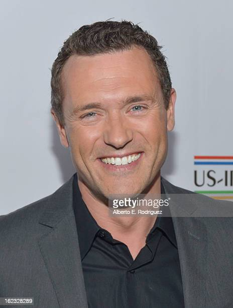 Actor Jason O'Mara attends the 8th Annual Oscar Wilde Honoring The Irish In Film PreAcademy Awards Event at Bad Robot on February 21 2013 in Santa...