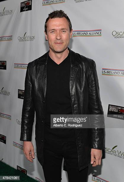 Actor Jason O'Mara attends the 9th Annual Oscar Wilde Honoring The Irish In Film PreAcademy Awards event at Bad Robot on February 27 2014 in Santa...