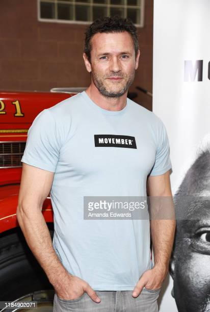 Actor Jason O'Mara attends the MOVEMBER Kickoff Event with Tarek El Moussa and Jason O'Mara at the Culver City Fire Department Station 1 on November...
