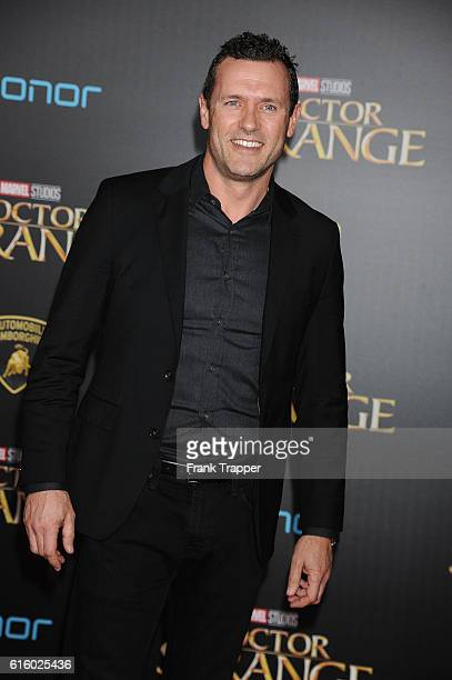 Actor Jason O'Mara attends the premiere of Disney and Marvel Studios' Doctor Strange held at the El Capitan Theater on October 20 2016 in Hollywood...