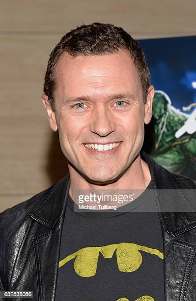 Actor Jason O'Mara attends the premiere of Warner Home Movies' 'Justice League Dark' at The Paley Center for Media on January 23 2017 in Beverly...