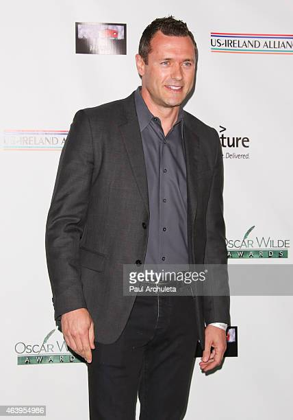 Actor Jason O'Mara attends the USIreland Alliance PreAcademy Awards Honors event at Bad Robot on February 19 2015 in Santa Monica California