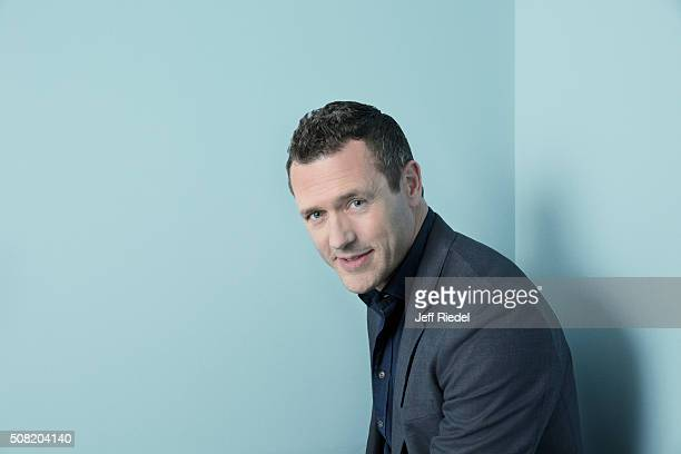 Actor Jason O'Mara is photographed for TV Guide Magazine on January 15 2015 in Pasadena California