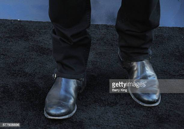 Actor Jason O'Mara shoe detail attends the premiere of New Line Cinema's 'Lights Out' at TCL Chinese Theatre on July 19 2016 in Hollywood California