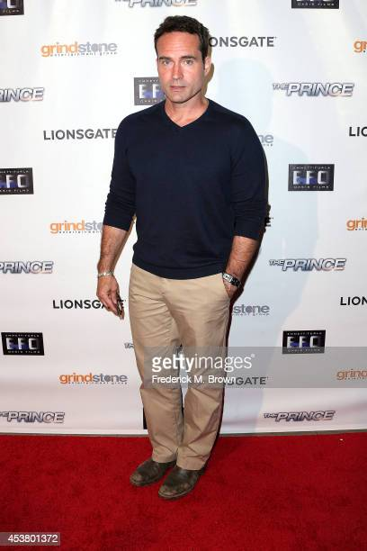 Actor Jason Patric attends the Premiere of Lionsgate Films' 'The Prince' at the TCL Chinese 6 Theatres on August 18 2014 in Hollywood California