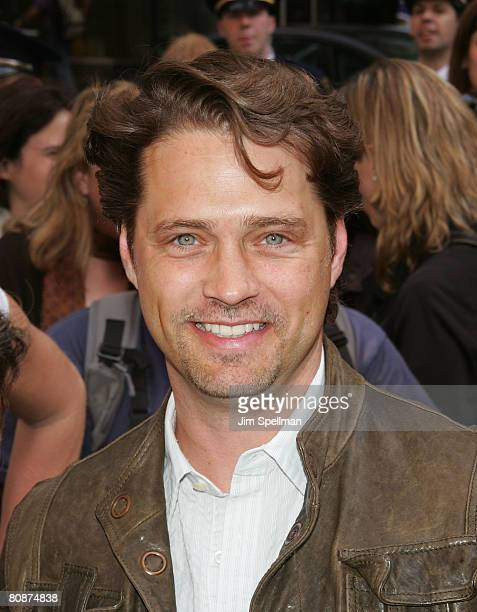 Actor Jason Priestley attends the Mario Kart Wii Launch Party at Nintendo World on April 26 2008 in New York City