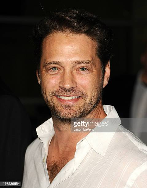 Actor Jason Priestley attends the premiere of 'Dark Tourist' at ArcLight Hollywood on August 14 2013 in Hollywood California