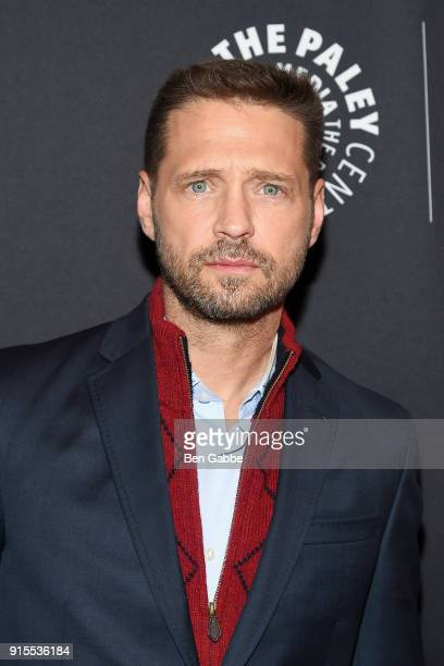 Actor Jason Priestley attends the Private Eyes Series Premiere at The Paley Center for Media on February 7 2018 in New York City