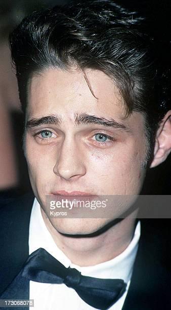 Actor Jason Priestley circa 1990