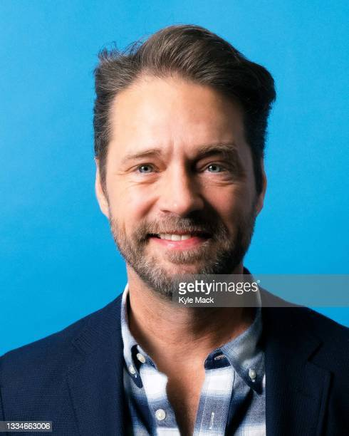 """Actor Jason Priestley is photographed for """"Breakfast Television"""" on January 29, 2020 in Toronto, Canada."""