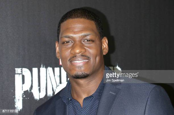 Actor Jason R Moore attends the 'Marvel's The Punisher' New York premiere at AMC Loews 34th Street 14 theater on November 6 2017 in New York City